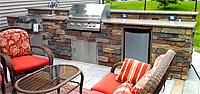 OUTDOOR LIVING - KITCHENS AND GRILLS